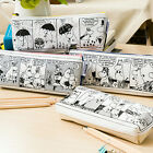 NEW=Moomin Valley=Pencil Bag Pen Case Handy Pouch Cosmetic Holder Makeup Storage