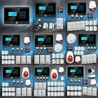 YEE Wireless GSM SMS Home Burglar Alarm Security System G01-G08 M2E