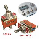3Pin 15A 250V Voiture Interrupteur à Bascule Levier Switch SPST ON-ON/ON-OFF-ON