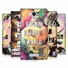 HEAD CASE DESIGNS ALL ABOUT MUSIC HARD BACK CASE FOR SHARP PHONES