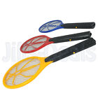 BUG ZAPPER RACKET MOSQUITO WASP BATTERY OPERATED HANDHELD FLY INSECT SWATTER