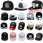 Fashion Men\'s Bboy Brim Adjustable Baseball Cap Snapback Hip-Hop Hat Unisex