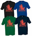 Bruce Lee Red Kung Fu Karate Martial Arts Legend Adult T-shirt S-3XL