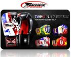 twins sparring gloves - TWINS BOXING GLOVES  FANCY FBGV-44 FLAG MUAY THAI MMA SPARRING GENUINE LEATHER