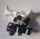 Black Real Touch Calla Lily Babys Breath Corsage
