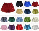 Thai Silk Blend Boxer Shorts 1 Pair Size M L XL XXL Mens Underwear 16 Colors New