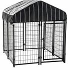 Dog Crates And Kennels Outdoor Pet Backyard Shelter House...