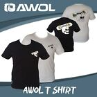 AWOL SKATE SPORTS T-SHIRT IN SIZES XS, SML, MED, LARGE, XL, XXL (SERIES 1)