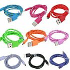 Micro USB Braided Charger Cable Cord for Samsung Galaxy Tab 3 4 7.0 8.0 A 9.7