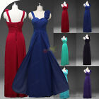 New Formal Long Evening Gown Party Ball Prom Bridesmaid Dress Plus Size 4-26