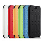 For Apple iPhone 6S /6S Plus textured Magnetic Leather Stand Wallet Case Cover