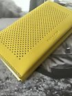 NWT Coach Men's Phone Case in Perforated Leather Chartreuse 65204 Wallet $125