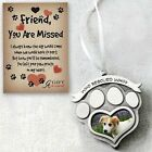 Pet Memorial Photo Ornament Who Rescued who? Gift Boxed w/Card Camco CO845