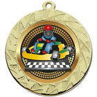 70MM Large Go Kart Medals With FREE Ribbon and free engraving up to 30 letters