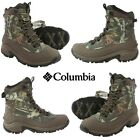 NWB Columbia Men's Bugaboot Waterproof Leather Winter Hiking Snow Camo Boots