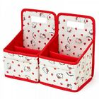 Hello Kitty My Melody Print Cosmetic Box Storage Case Sanrio from Japan S5148