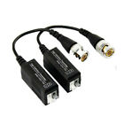 CCTV VIDEO BALUN BNC TO CAT5 UTP FOR HD CAMERAS AHD HD TVI CVI 1080P 3MP 4MP