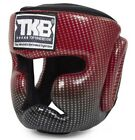TOP KING HEADGEAR  PROTECTOR SUPER STAR GENUINE LEATHER TKHGSS-01 RED