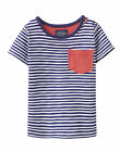 *BNWT* Baby Joules Boys Olly Navy Striped T-Shirt NEW FOR SS16