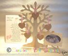 3D Wishing Tree Guest Book Wooden Heart Tags Inc Scan Easel & Poem! Baby Shower