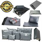 Grey Postal Mailing Bags Packaging Postage Posting Sacks Self Seal All Size Poly