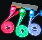 LED light-up 8 Pin USB Charger Data Sync Cable Cord For iPhone 5 5S 6 6S Plus +