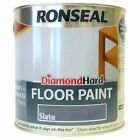 Diamond Hard Floor Paint Slate 2.5Litre / 5 Litre - Next Day Delivery