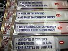 Hunters in the Sky VHS Fighter Aces of WWII Bob Dole NEW 4 VOLUMES