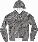 GLOBE NEW Men's Reversible Hoodie White Frazier BNWT