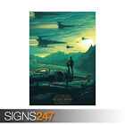 STAR WARS THE FORCE AWAKENS (1238) Picture Poster Print Art A0 A1 A2 A3 A4 £16.95 GBP