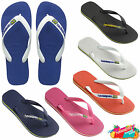 Havaianas Flip Flops Brasil Logo Top Unisex Summer Beach Sandals All Sizes BNWT