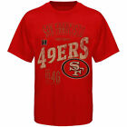 San Francisco 49ers Line to Gain T-Shirt - Scarlet