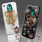 NEW DIAMANTE CLEAR FLOWER DIAMOND CASE COVER 4 SAMSUNG iPHONE SONY 4 5 6 S6 7