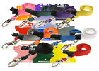 Safety Neck Strap Lanyard (Lobster Clip) AND Badge ID Card Holder lot