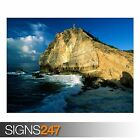 BEACH GUADELOUPE (3304) Beach Poster - Picture Poster Print Art A0 A1 A2 A3 A4