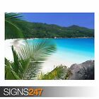 TROPICAL RETREAT BEACH (3305) Beach Poster - Photo Poster Print Art * All Sizes
