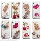 NEW 3D BLING DELUX DIAMANTE HANDBAG CASE COVER 4 SAMSUNG iPHONE SONY HTC 5 5S 6