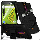 Shock Proof Dual Layer Heavy Duty Case Cover+Stereo Headphones for Lenovo