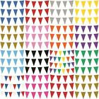 10m Colour Bunting 20 Flags Party Wedding Decoration Event Garden Home Outdoor