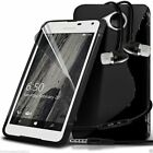 S-Line Slim Sports Wave Gel Phone Case✔In Ear Stereo Headset for Lumia