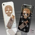 DIAMANTE SKULL PERFUME DIAMOND MOBILE CASE COVER SAMSUNG iPHONE SONY HTC 6 S6 S5