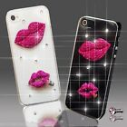 NEW PINK DIAMANTE DIAMOND MOBILE CASE COVER SAMSUNG iPHONE SONY HTC 4 5 5S S6 S5