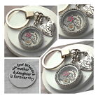 Mother and Daughter Love is forever Keyring / Necklace - Mothre's day Gift