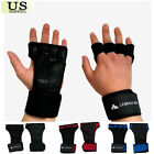 GYM Weight Lifting Gloves Health Fitness Wrist Wrap Workout Gloves SILICONE