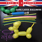 1-50 LONG LATEX BALLOONS FOR KIDS PARTY CELEBRATIONS FREE P&P UK SELLER