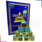 Triangle Snooker Pool Billiards Cue Chalk Green 12 - 144 Cubes £3.95 GBP on eBay