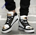 Fashion Mens Casual Sports Multicolor HIgh Top Booties Hip Hop Athletic Shoes