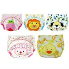 Baby Boy Girl Infant Toilet Pee Potty Training Pants Cloth Diaper Underwear WS