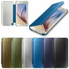 Mirror Smart Clear View Window Flip Case Cover For Samsung Galaxy S7 Edge