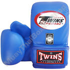 Twins Special Muay Thai Training Bag Gloves TBGL-3F Blue Size M-L